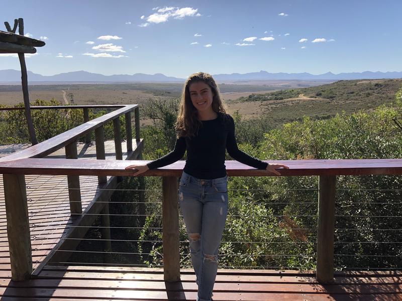 Monique Miquel, a junior at Marjory Stoneman Douglas High School.