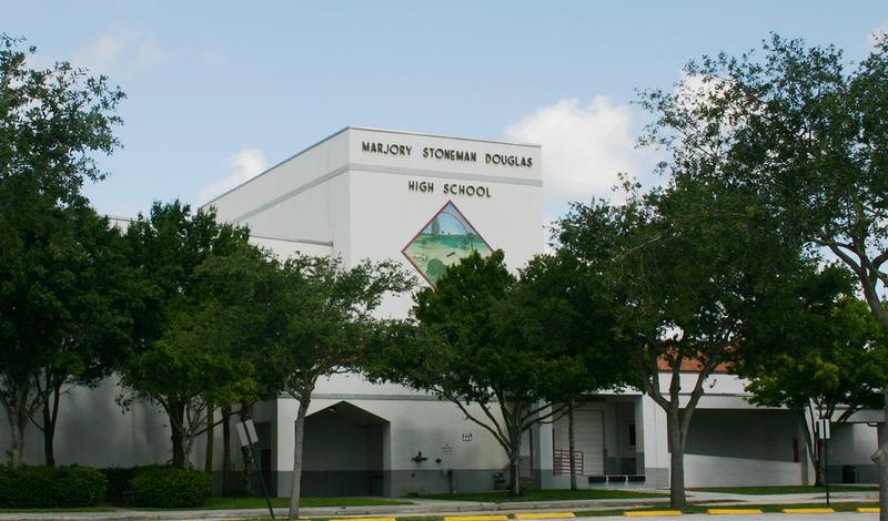 Marjory Stoneman Douglas High School in Parkland, Florida.