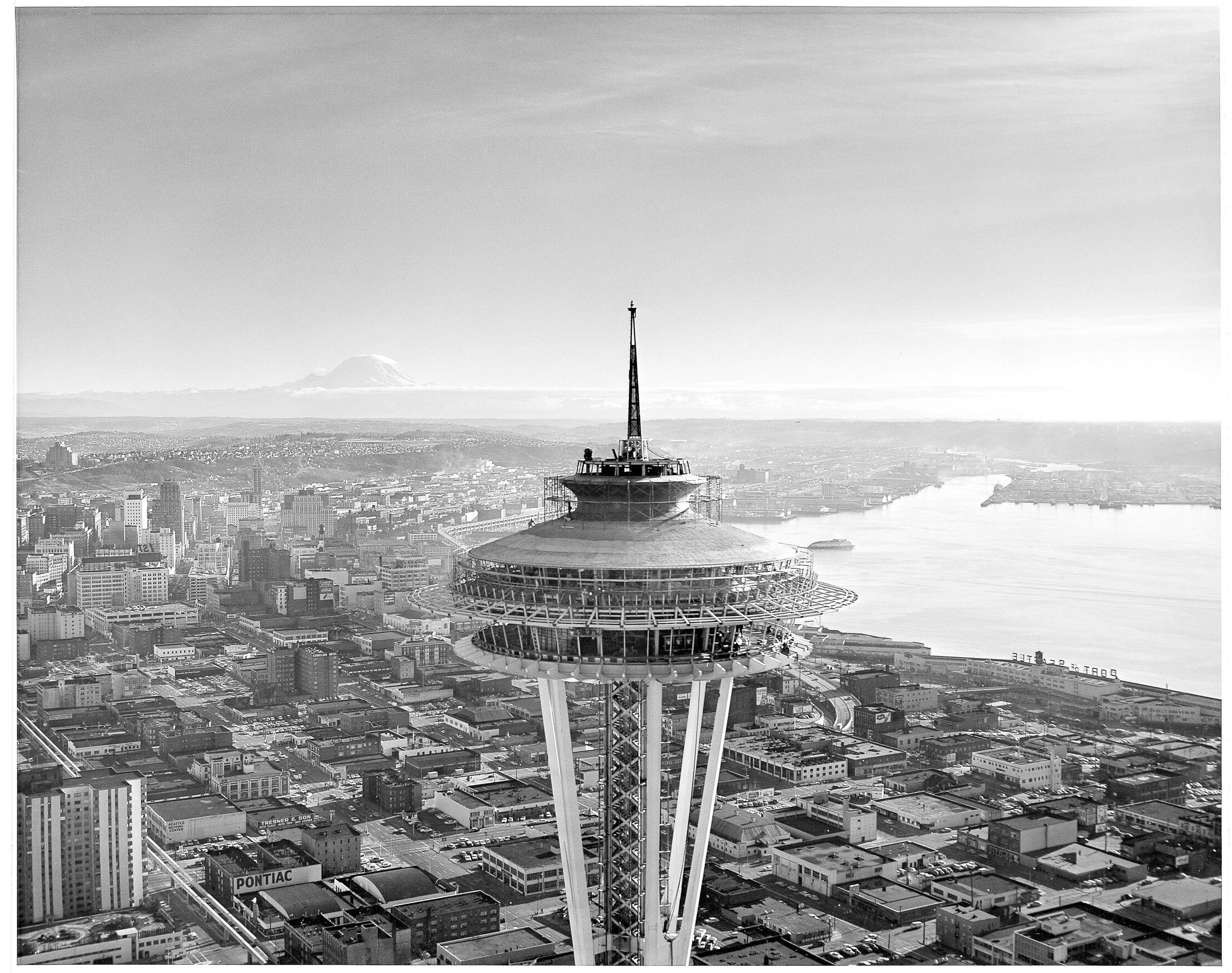Space needle was once considered a monstrosity by Built in seattle
