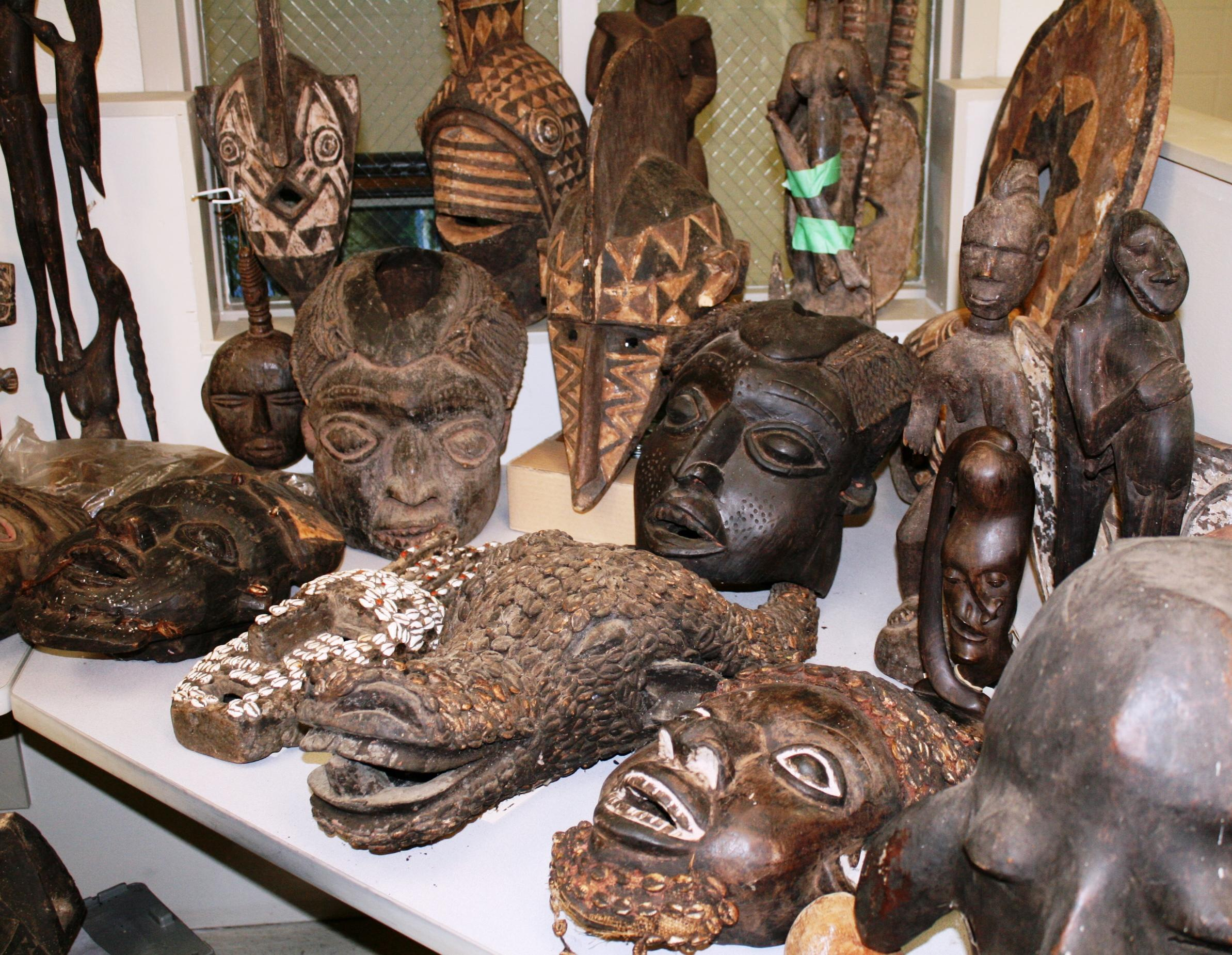 Anonymous Donor Drops Off 11k In African Artifacts At
