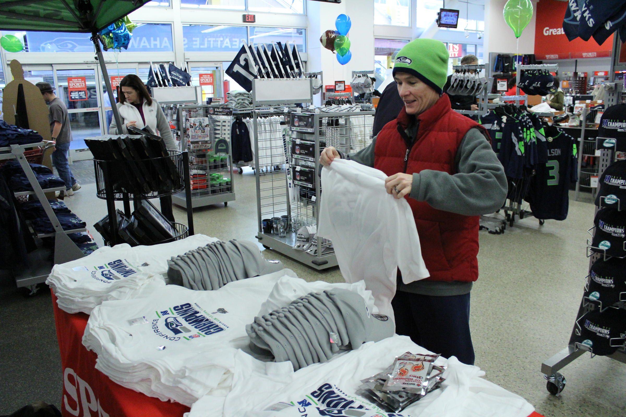 Stocking For Success: Merchandisers Prepare For Super Bowl ...