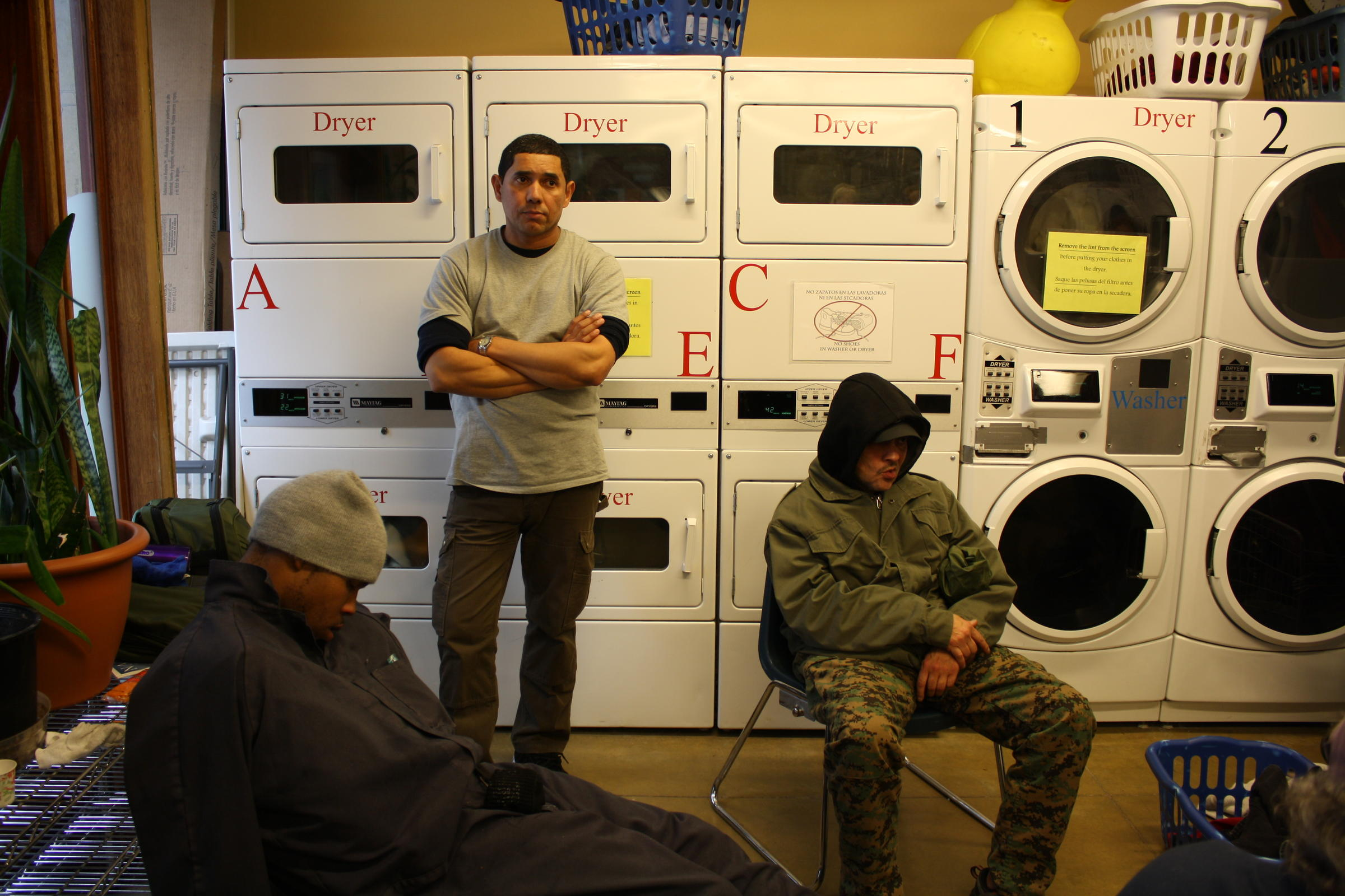 Laundry for the homeless 8