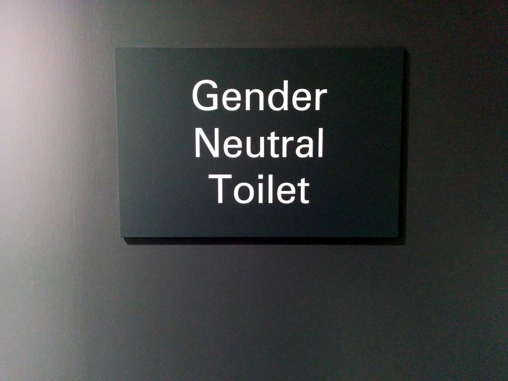 Mother worries washington bathroom bill will put her 8 for Gender neutral bathroom signs