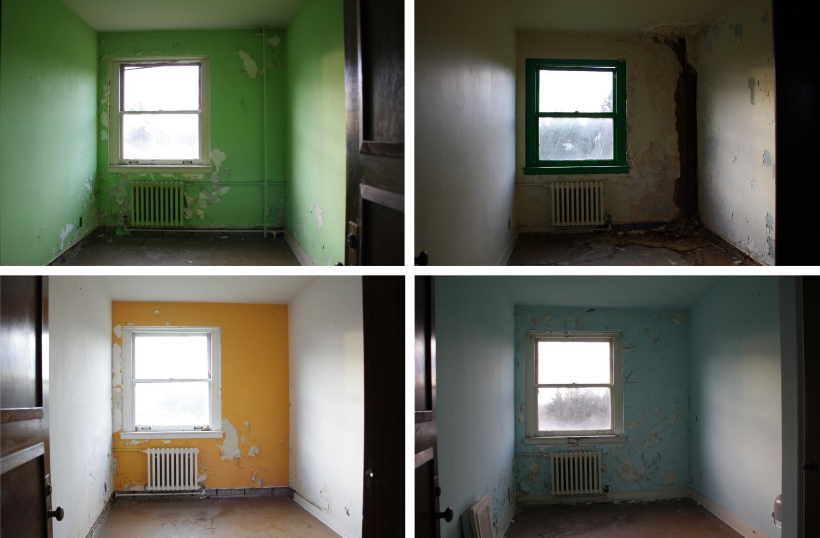 Tiny Rooms should the state give this rotting kenmore seminary to a developer