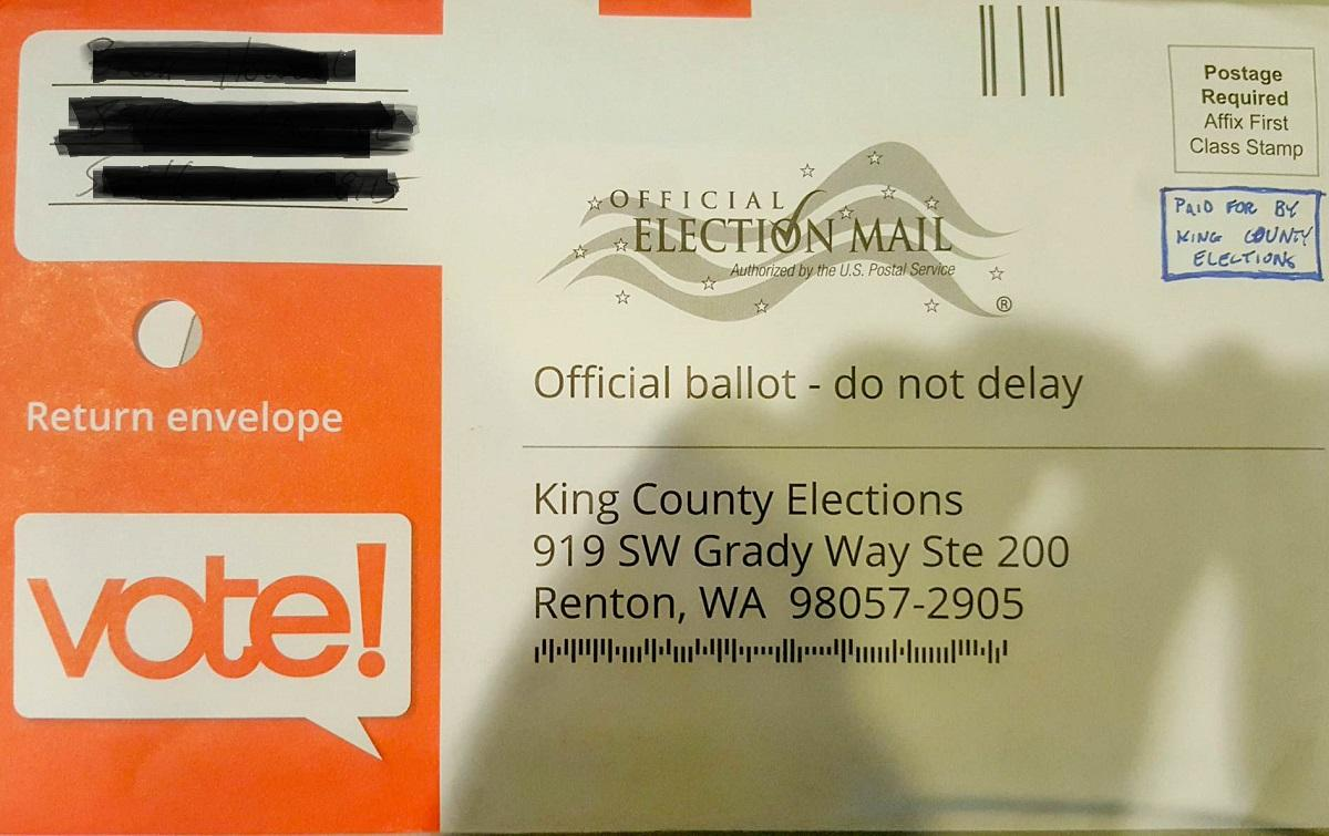 No, you don't need a stamp for your ballot | KUOW News and ...