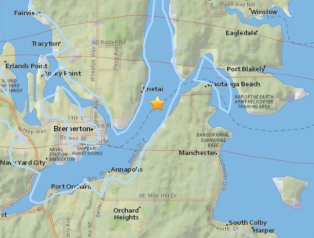 2-magnitude quake recorded off coast of El Salvador