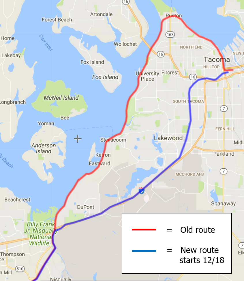 Train Rides In Pierce County Are Losing Their Scenic Views KUOW - Amtrak national map