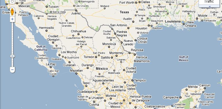 Map Texas And Mexico | Business Ideas 2013
