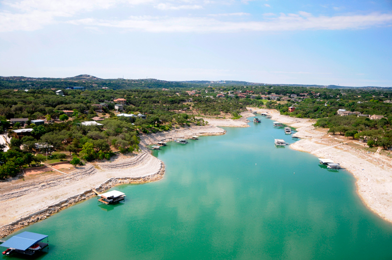 Texas water utility plans for drought worse than 1950s for Lake travis fishing report