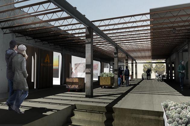 Artists Sculptors Raise Canopy Studios In East Austin Kut