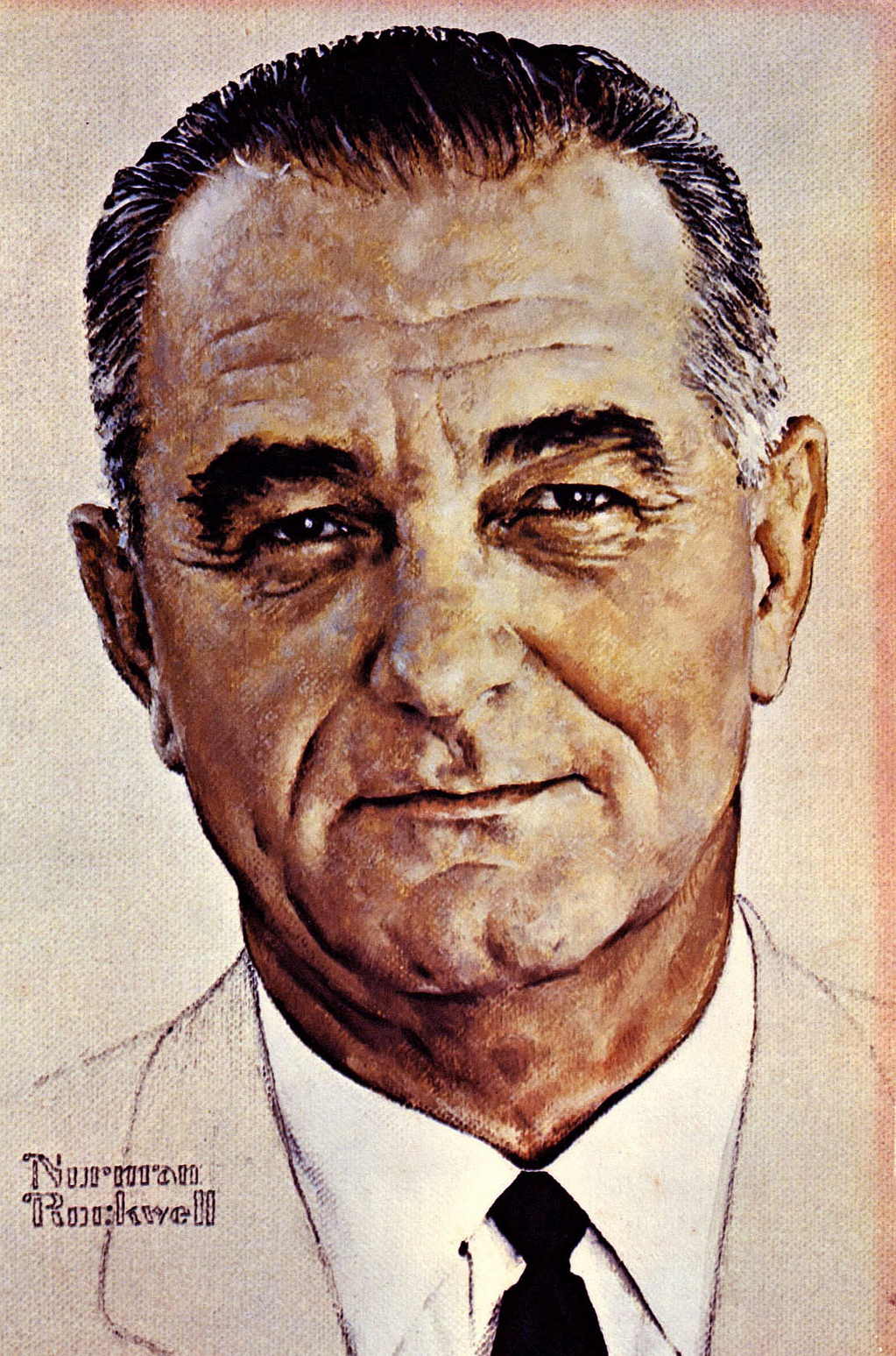 The Portrait LBJ Never Wanted the World to See   KUT