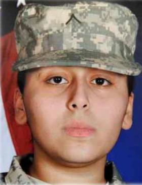 Pvt. Francheska Velez, 21, of Chicago, killed in the Fort Hood shooting on Nov. 5, 2009, was also pregnant at the time. Her father testified during the sentencing phase of the Hasan trial Monday.