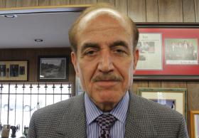 Ghassan 'Gus' Karim. Karim was in Lebanon 50 years ago at the time of John F. Kennedy's assassination.