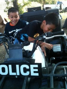 Many Dove Springs children haven't had positive experiences with Austin Police. But there is a concerted effort from APD to win residents over.