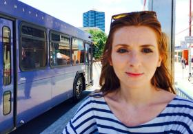 Transportation experts stress the importance of marketing to young people like 26-year-old Emily Mandell.