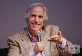 Henry Winkler enjoyed barbeque and watched the bats at the Congress Avenue Bridge while in Austin. He also doled out some advice.