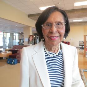 A graduate of Huston-Tillotson University's class of 1941, Ada Anderson says her HT degree opened doors she would not have had access to otherwise.