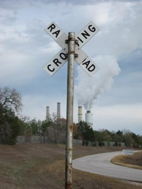 A coal power plant in Fayette, Texas.