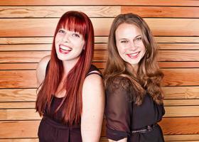 Festival founders Caitlin McFarland and Emily Gipson.