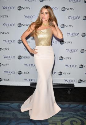 Actress Sofía Vergara attends the Yahoo News/ABCNews Pre-White House Correspondents' dinner reception pre-party at Washington Hilton on May 3, 2014 in Washington, DC.