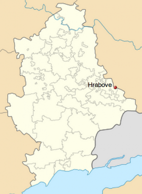 The crash occurred near the village of Hrabove in Donetsk Oblast, Ukraine – some 25 miles from the Russian border.