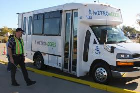 Cap Metro staff has proposed separate contractors for regualr bus routes and its paratransit services, pictured above.