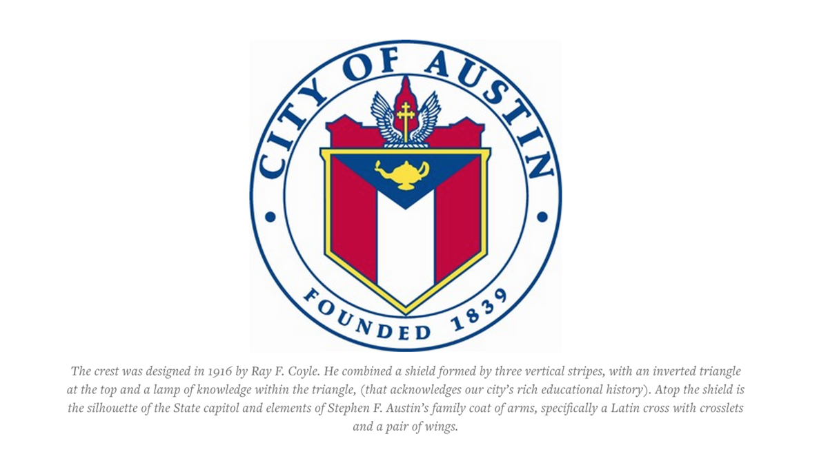 The Official Flag of The City of Austin is Kind