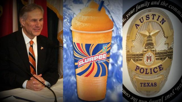 Texas AG Greg Abbott drops opposition to Voter ID depositions; get your free Slurpee while supplies last; and an APD officer was not charged in a fatal 2011 shooting.