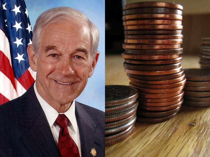 Change Ron Paul can believe in: Paul's campaign has itemized over 100 expenses under one dollar.