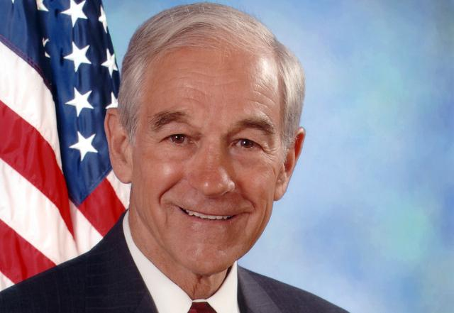 Republican Ron Paul is speaking in Austin tonight