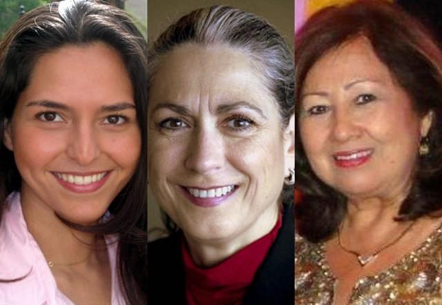 "From left: Ana Yáñez-Correa, Maria Luisa ""Lulu"" Flores and Lupe Morin are three Austinites honored by TAMACC"