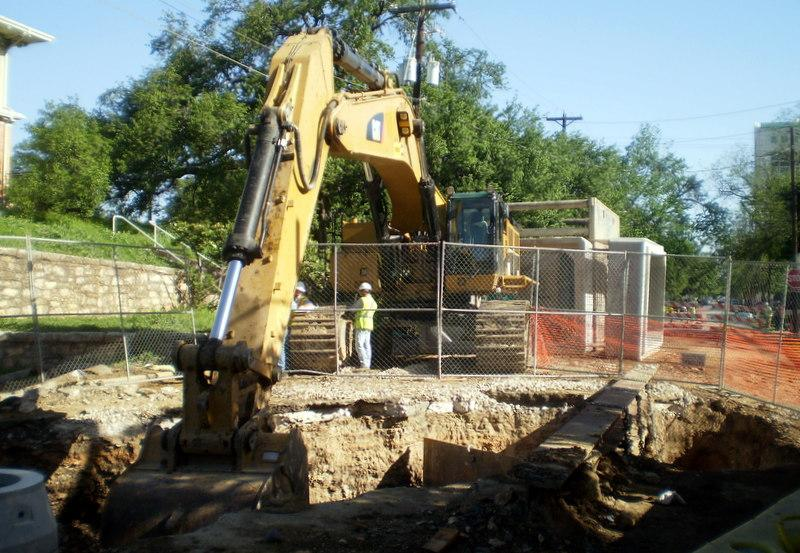 Get ready to see a lot more of this: Austin Water announced a five-year pipe repair program today.