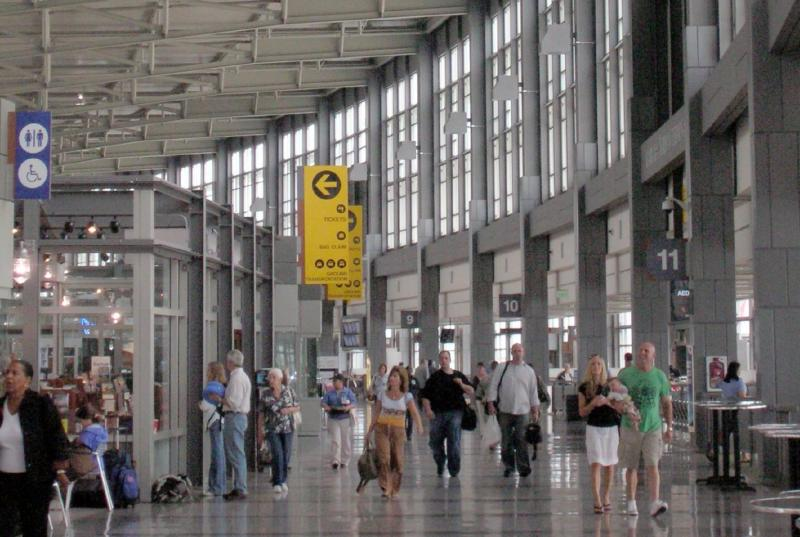 No heightened security at Austin-Bergstrom International Airport, despite security concerns elsewhere in the US.