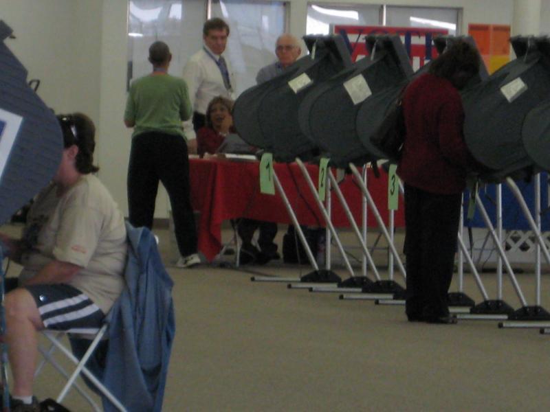 Polling scene