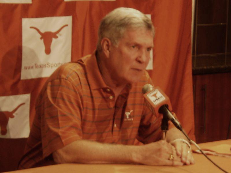 UT Head Coach Mack Brown has seen his football team drop its last four games at home.