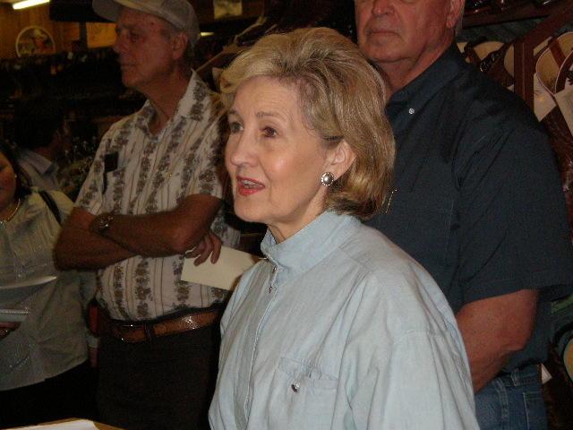 U.S. Senator Kay Bailey Hutchison (R-Texas)