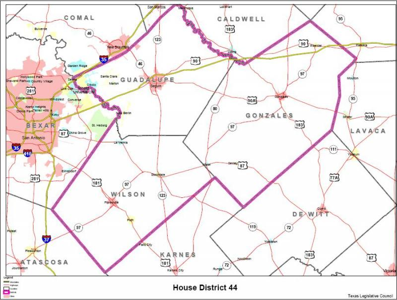 Texas House District 44