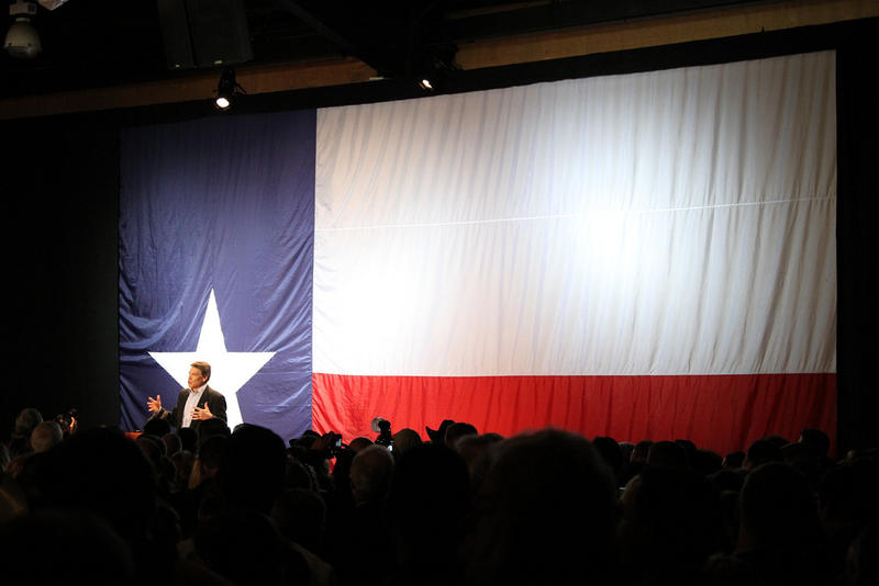 Governor Rick Perry election night victory