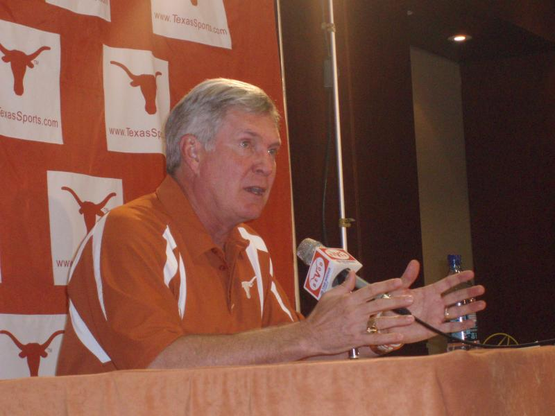 Mack Brown, Texas football
