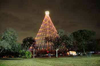 The Zilker Tree is an annual Austin tradition