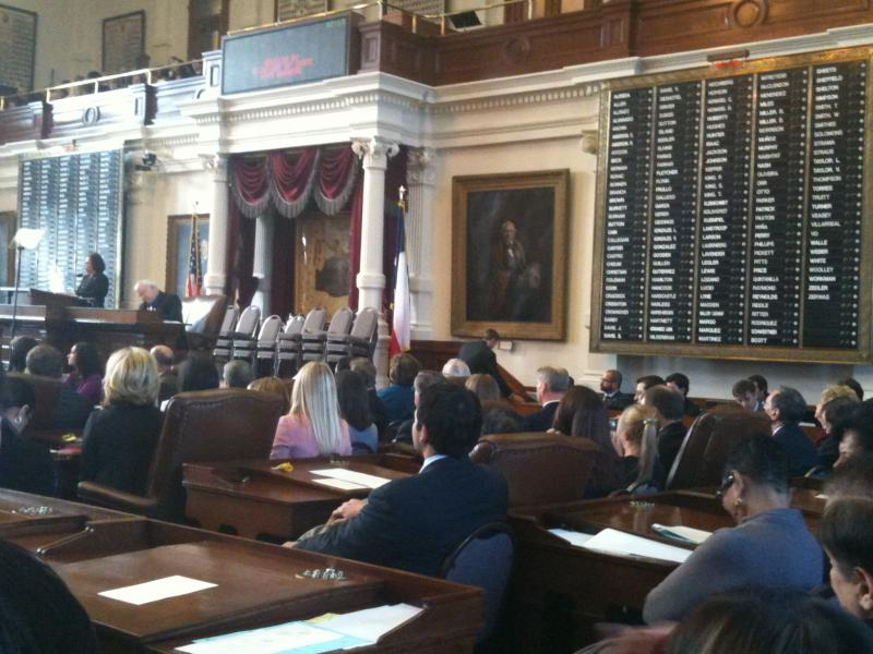The Texas House prepares to elect a speaker for the 82nd legislature