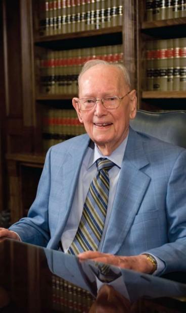 Jack Borden, a Texas lawyer and UT grad, passed away this week at the age of 102.