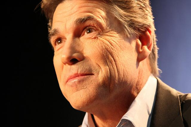 Rick Perry was sworn in Tuesday for a third four-year term as Texas governor