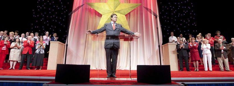 Gov. Perry talking at 2010 State GOP convention