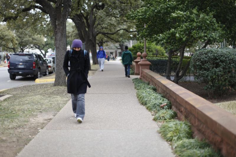 The cold weather that has people bundling up on the University of Texas campus could prompt more rolling power outages tonight and tomorrow.