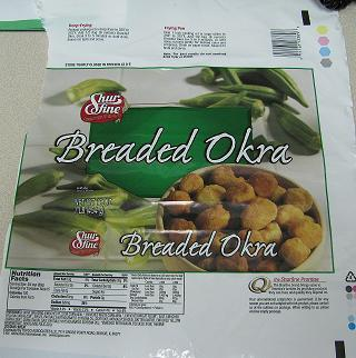 Breaded okra made in McAllen, TX is being recalled because the food contains whey, a milk ingredient, that was not properly labeled.