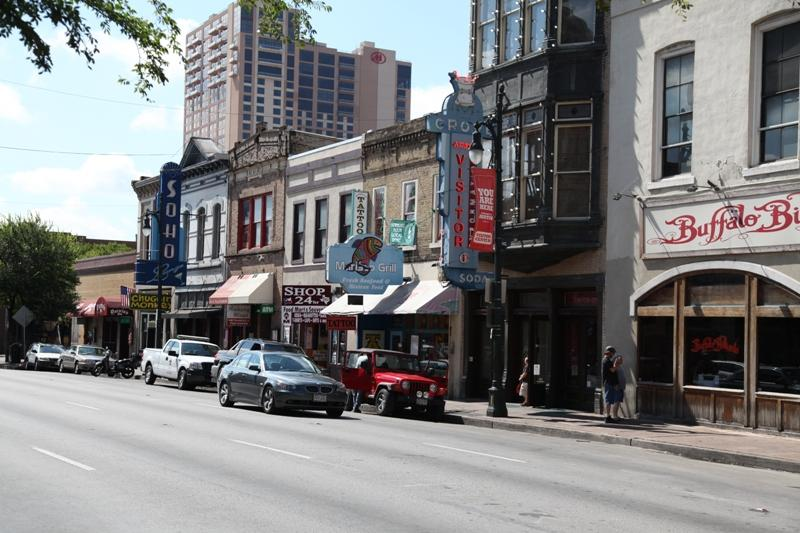 Sixth Street shuts down for SXSW starting today.