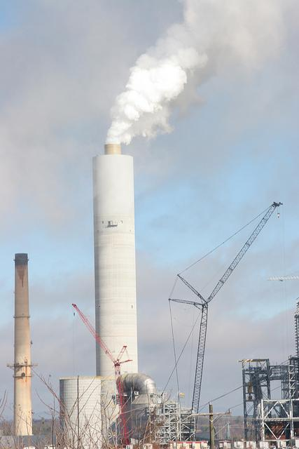 The EPA announced mercury regulations that would require coal plants to cut emissions. This plant is the Cliffside Steam Station in North Carolina run by Duke Energy .