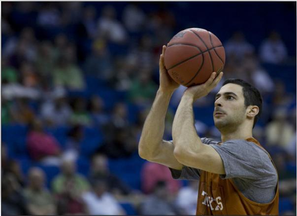 UT Guard Dogus Balbay will lead the Longhorns into the first round of the NCAA Men's Basketball Tourney