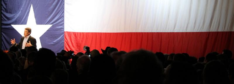 Gov. Perry celebrates on Election Night